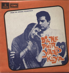 Dil Ne Phir Yaad Kiya Indian Vinyl LP