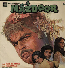 Mazdoor - R.D. Burman Indian Vinyl LP