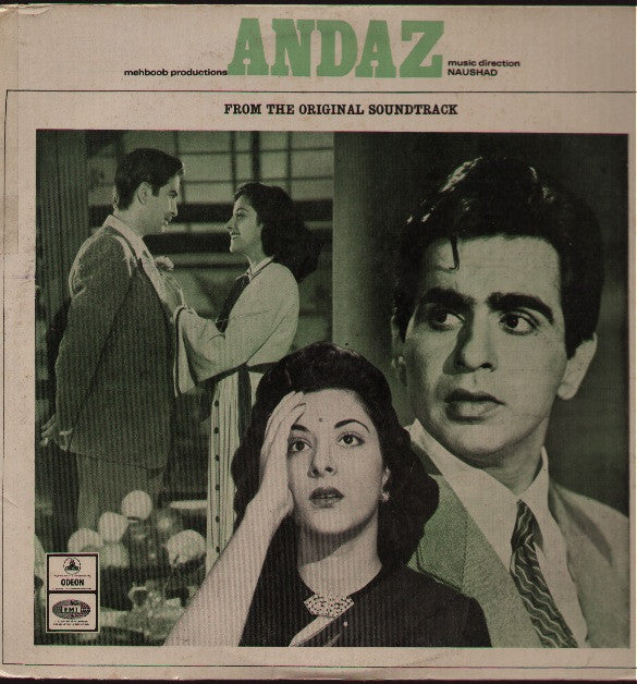 Andaz - Dilip / Raj Kapoor - Hindi Indian Vinyl LP