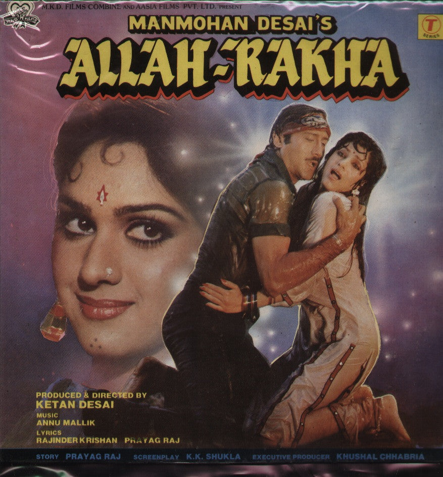 Allah Rakha Hindi Bollywood Vinyl LP