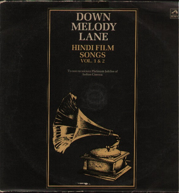 Down Memory Lane Indian Vinyl LP