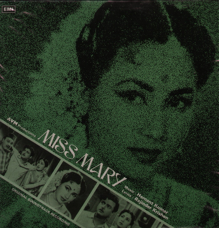 Miss Mary Indian Vinyl LP