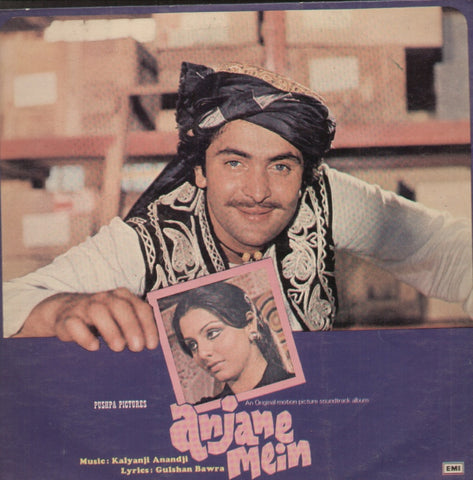 Anjane mein Hindi Indian Vinyl LP