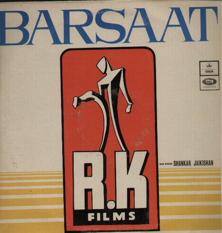 Barsaat - Raj Kapoor Bollywood Vinyl LP