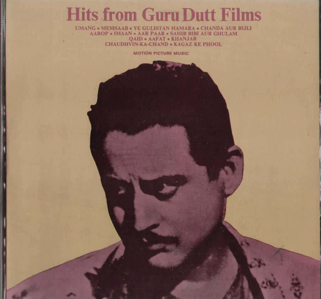 Hits from Gurudutt Films Bollywood Vinyl LP