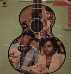 Anand Aur Anand - Hindi Bollywood Vinyl LP