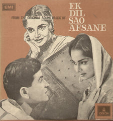 Ek Dil sao afsane Indian Vinyl LP