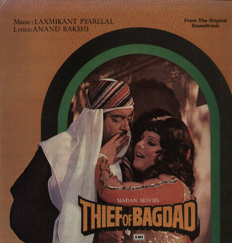 The Thief Of Bhagdad Bollywood Vinyl LP
