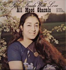 Farida Ali - From Farida With Love - Ghazal Bollywood Vinyl LP