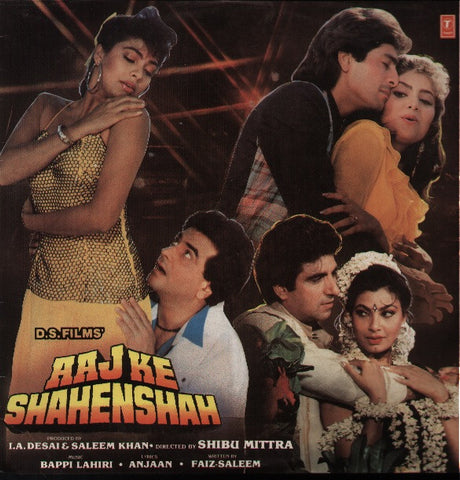 Aaj Ke Shahenshah Hindi Bollywood Vinyl LP