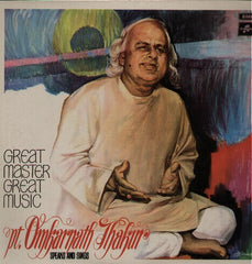 Pandit Jasraj - A Day With - Rare Brand New Bollywood Vinyl LP