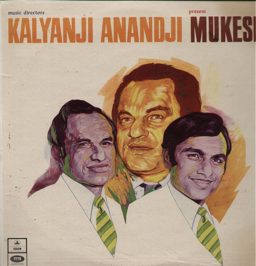 Mukesh -Presented by Kalyanji Anandji Bollywood Vinyl LP