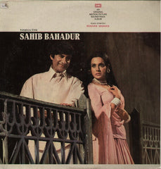 Sahib Bahadur Bollywood Vinyl LP