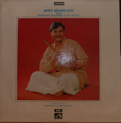 Hariprasad Chaurasia-Down Memory Lane Indian Vinyl LP