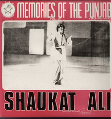 Memories Of The Punjab - Volume 6 - Bollywood Vinyl LP