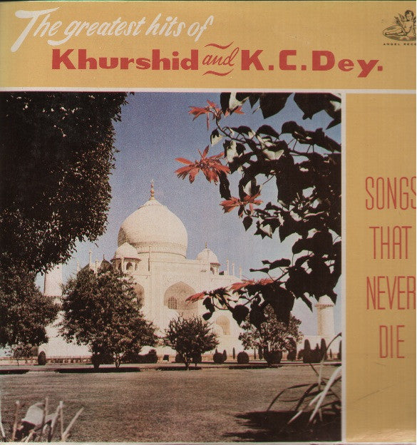 Khurshid & K.C Dey - Songs That Never Die - Brand new Bollywood Vinyl LP