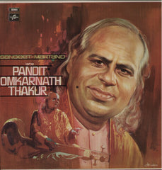 Pandit Omkarnath Thakur Indian Vinyl LP