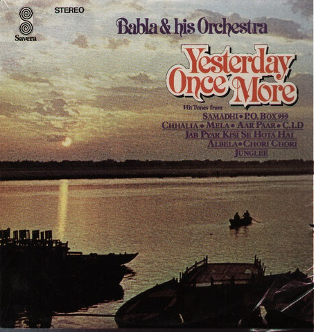 Babla and his orchestra - Yesterday once more - Indian Vinyl LP