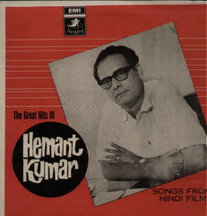 Hemant Kumar - Great Hits of Hemant Kumar Indian Vinyl LP