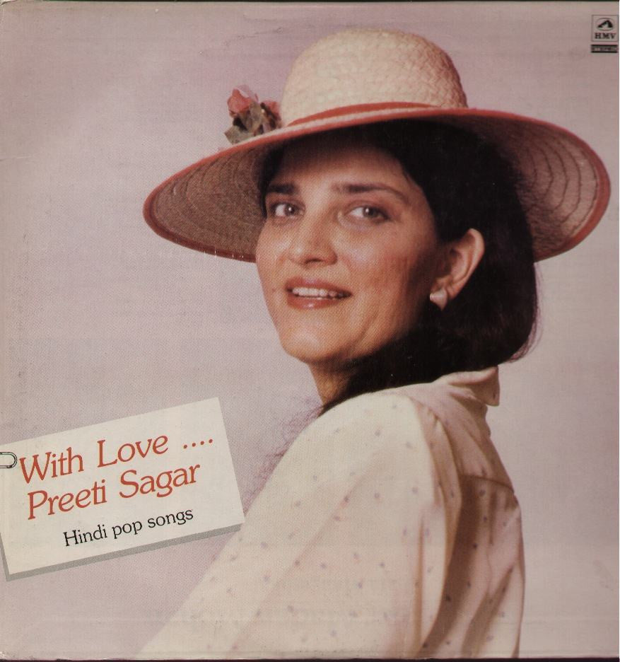 Preeti Sagar - With Love - Hindi Bollywood Vinyl LP