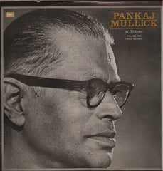 Pankaj Mullick - A Tribute - Indian Vinyl LP
