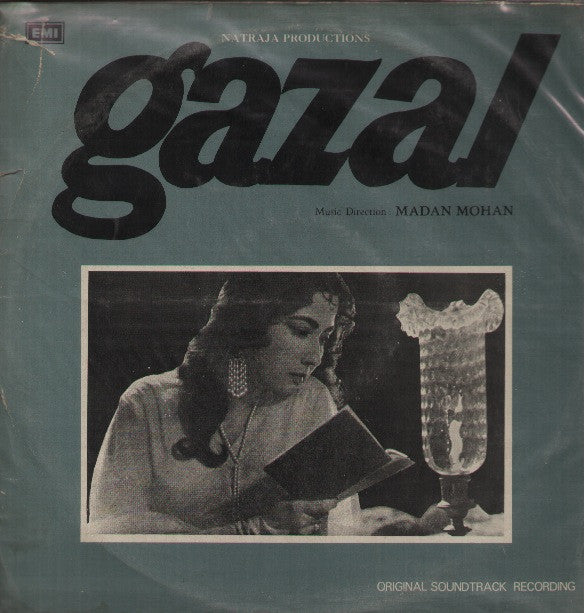 Gazal - Meena Kumari hit Bollywood Vinyl LP