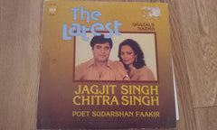 The latest Ghazals Nazms - Jagjit & Chitra Bollywood Vinyl LP