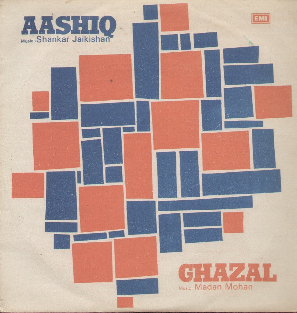 Aashiq & Ghazal Indian Vinyl LP