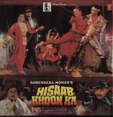Hisaab Khoon Ka Bollywood Vinyl LP