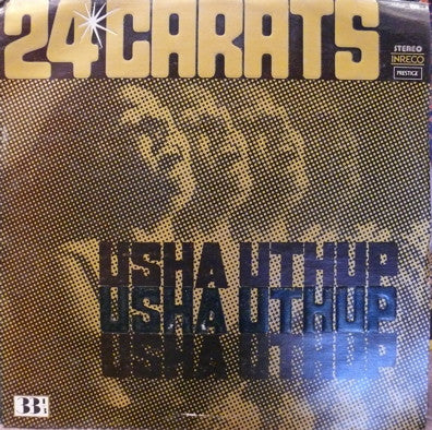 Usha Uthup - 24 carats - Indian Vinyl LP