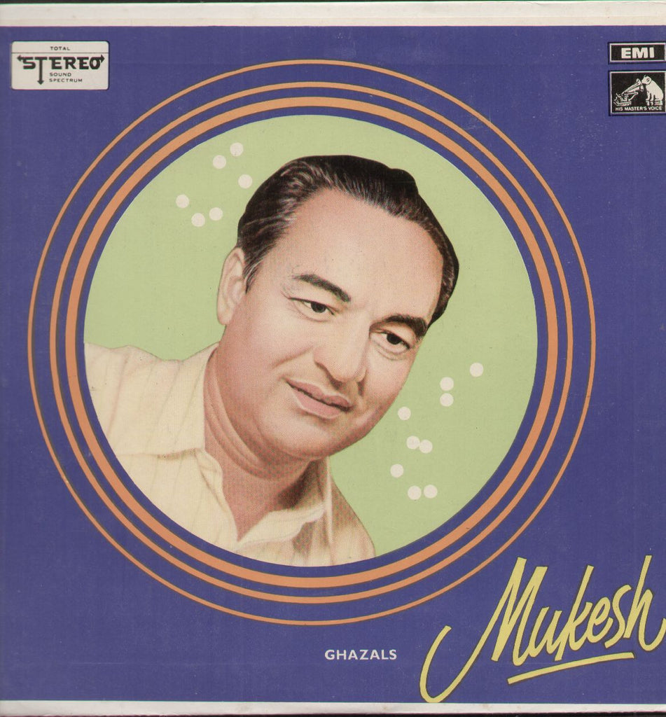 Mukesh Ghazals - First Press - Bollywood Vinyl LP