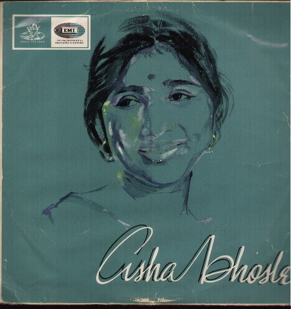 Asha Bhosle - 1960's Bollywood Vinyl LP
