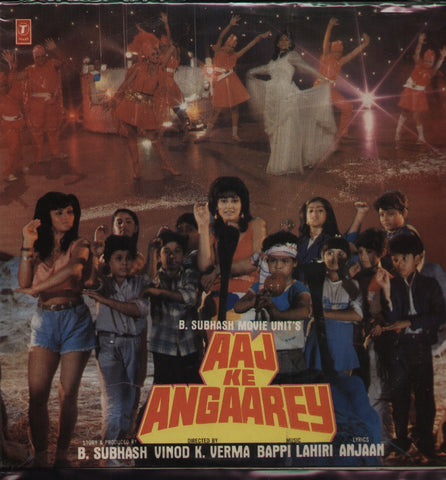 Aaj Ke Angaarey Hindi Bollywood Vinyl LP