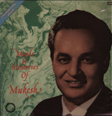 Mukesh - Mood & Memories Bollywood Vinyl LP