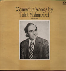 Talat Mahmood - Romantic Songs Indian Vinyl LP