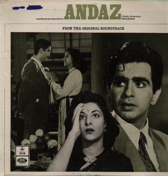 Andaz - Dilip / Raj Kapoor Blockbuster Indian Vinyl LP