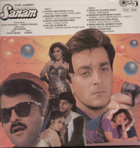 Sanam Bollywood Vinyl LP
