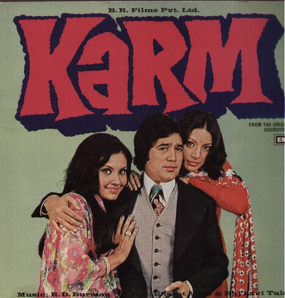 Karm - Rajesh Khanna Hit Indian Vinyl LP