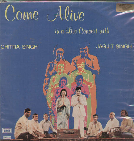 Come Alive with Jagjit and Chitra - Double Indian Vinyl LP