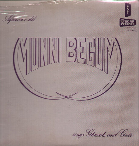 Munni Begum - Afsana - E - Dil - New Bollywood Vinyl LP