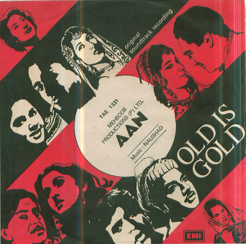 Aan - New Hindi Bollywood Vinyl EP