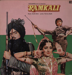 Ramkali - Sonik Omi Soundtrack Bollywood Vinyl LP
