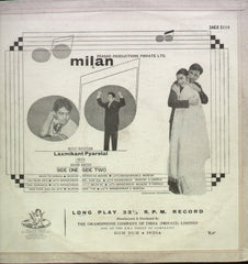Milan 1967 Bollywood Vinyl LP