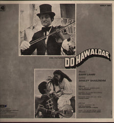 Do Hawaldar Bollywood Vinyl LP