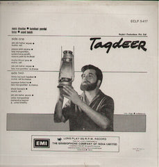 Taqdeer Indian Vinyl LP