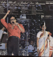 Asha Bhosle Live at Royal Albert Hall London with R D Burman Bollywood Vinyl LP