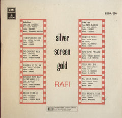 SILVER screen Gold - Rafi Indian Vinyl LP