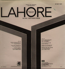 Lahore Indian Vinyl LP