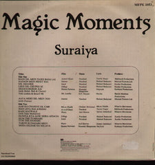Suraiya - Bollywood Vinyl LP