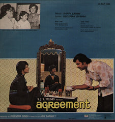 Agreement - Rare Bappi Lahiri Indian Vinyl LP